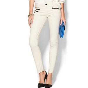 Sanctuary cotton zipper cargo skinny pants